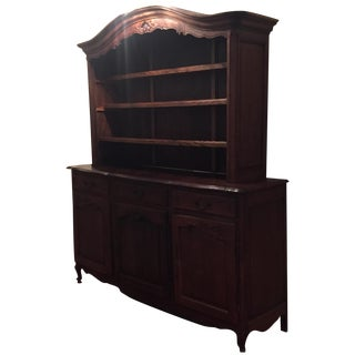Dark Wood Hutch