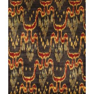 Pasargad Ikat Wool Rug - 8′ × 8′