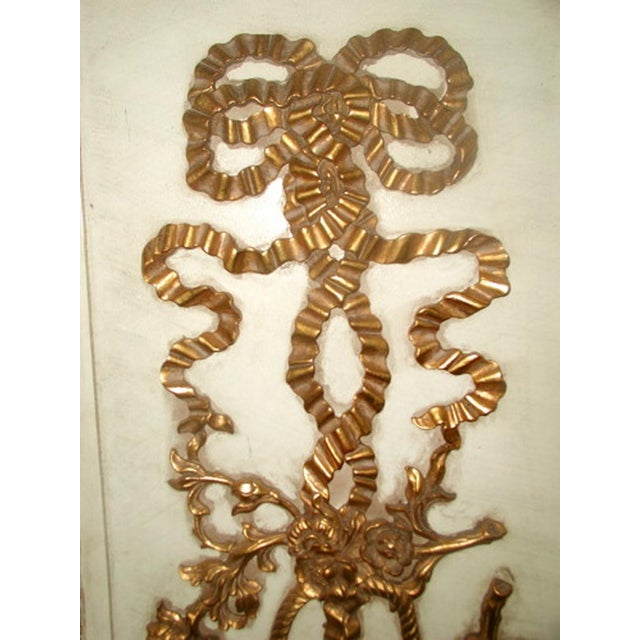 Gilt Decorative Wall Hung Panels - A Pair - Image 3 of 8
