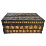 Image of Anglo Indian Edwardian Porcupine Quill Box
