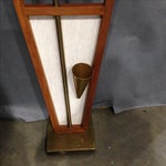 Image of Mid-Century Teak Floor Clock