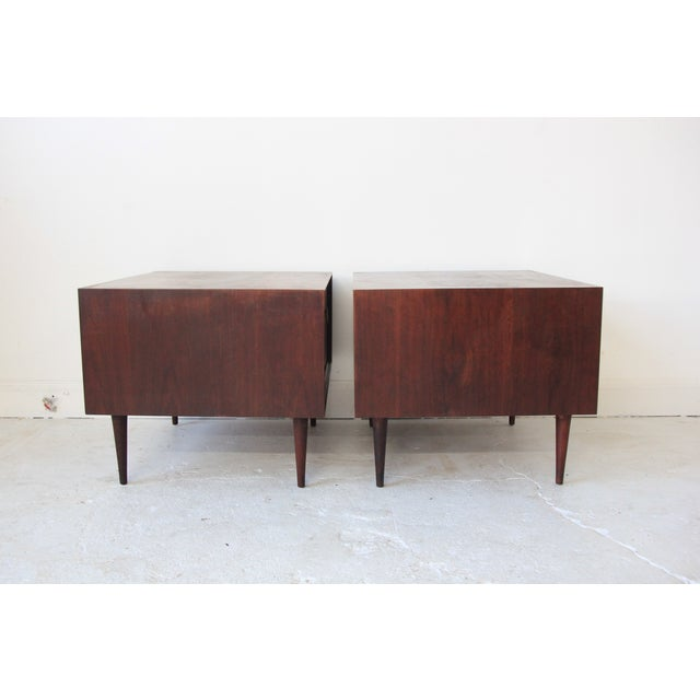 Vintage Mid Century Modern End Tables - Pair - Image 3 of 7