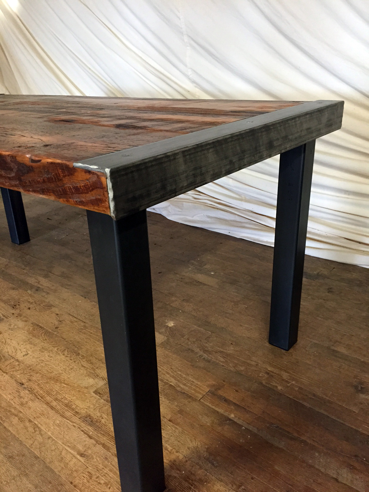Modern Industrial Farmhouse Table
