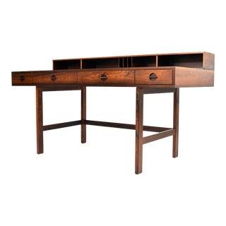 Danish Modern Rosewood Desk by Peter Løvig Nielsen for Dansk