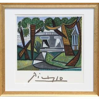 "Pablo Picasso ""Le Verte Galant"" Lithograph"
