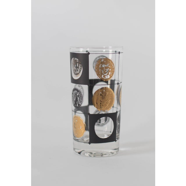 Mid-Century Coin Glasses- Set of 5 - Image 5 of 5
