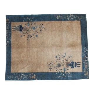 """Vintage Chinese Peking Carpet - 9'2"""" X 11'4"""""""
