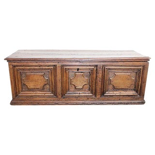 Late 17th Century Italian Walnut Coffer