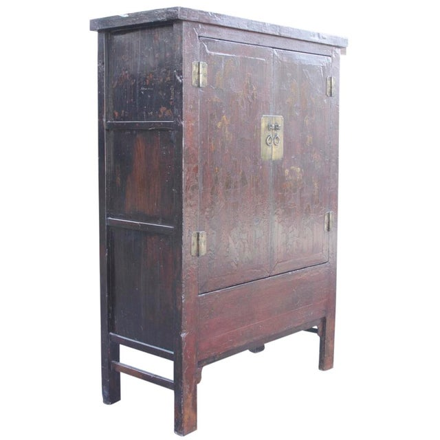 Red & Gilt Chinoserie Armoire - Image 2 of 7