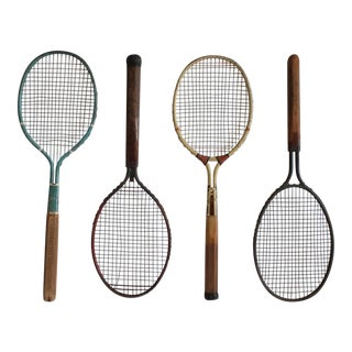 1920s Metal Tennis Rackets by Dayton