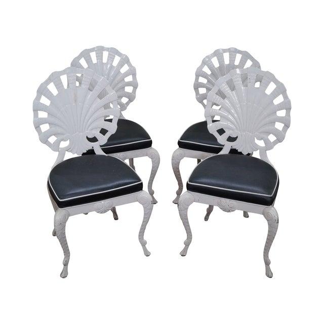 Image of Brown Jordan Hollywood Regency Chairs - Set of 4
