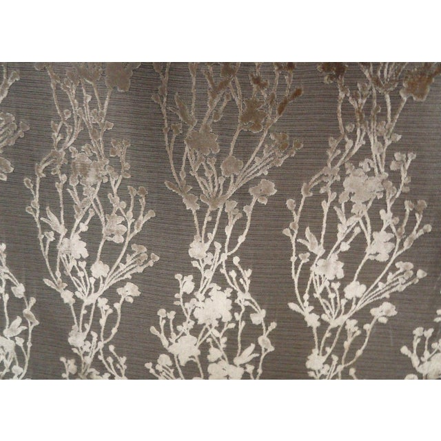 Arc|Com Provence Gold Floral Velvet - 7 Yards - Image 1 of 3
