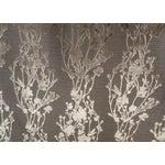 Image of Arc Com Provence Gold Floral Velvet - 7 Yards