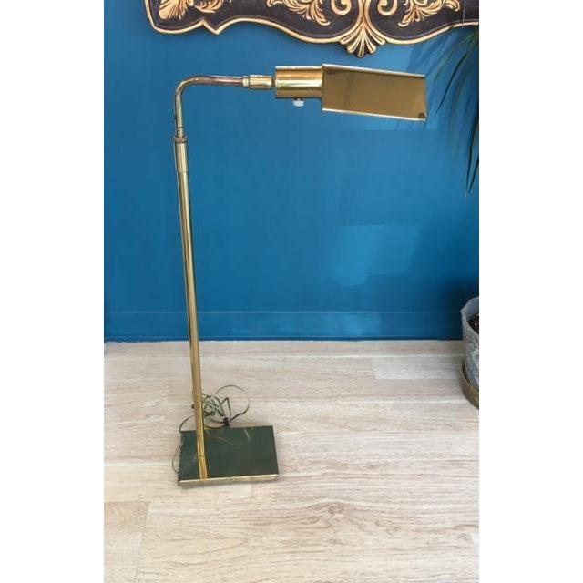 Mid-Century Koch & Lowy Adjustable Floor Lamp - Image 4 of 9