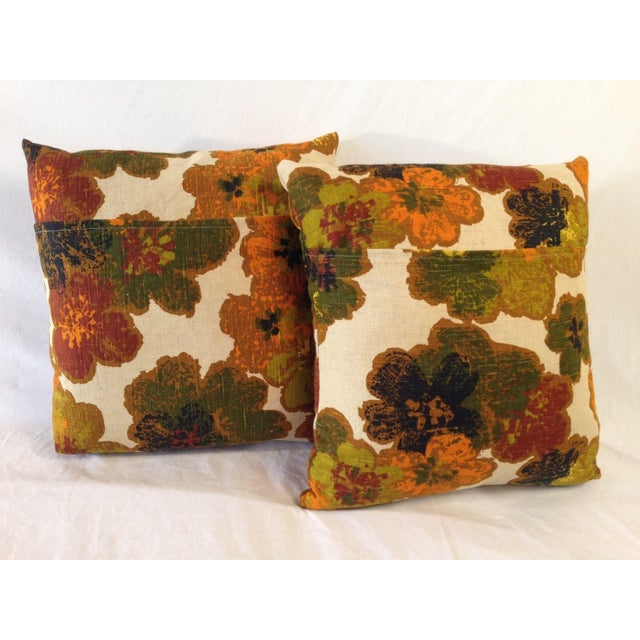 Image of Vintage Floral Decorative Pillow