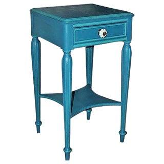 Vintage Painted Mahogany Side Table