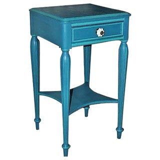 Vintage Painted Mahogany Side Table