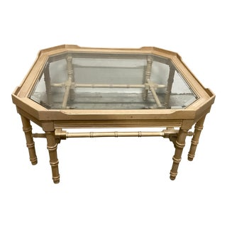 Faux-Bamboo Coffee Table by Lane