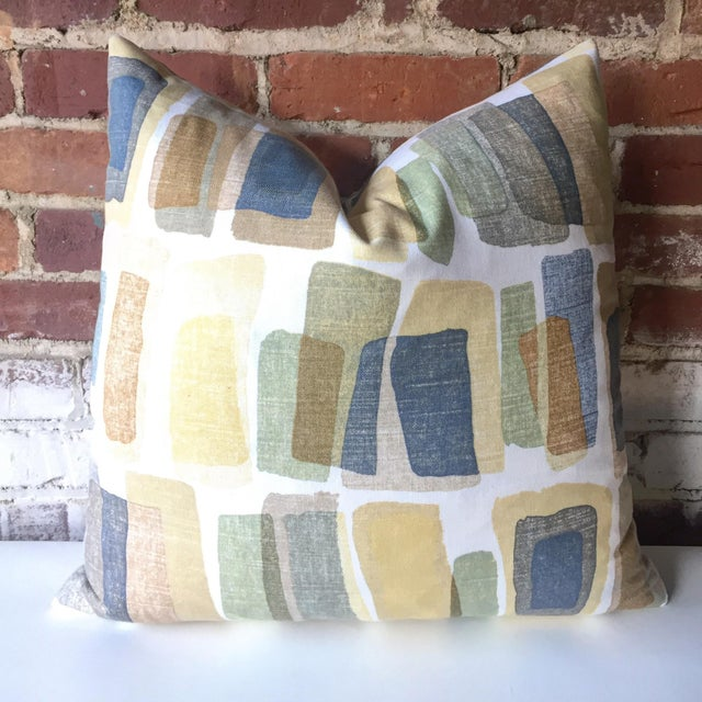 Image of Mid-Century Stonehenge Abstract Pillow Cover