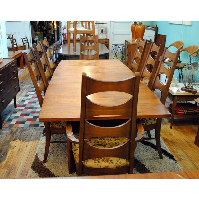 Kent coffey mid century perspecta dining chairs set of