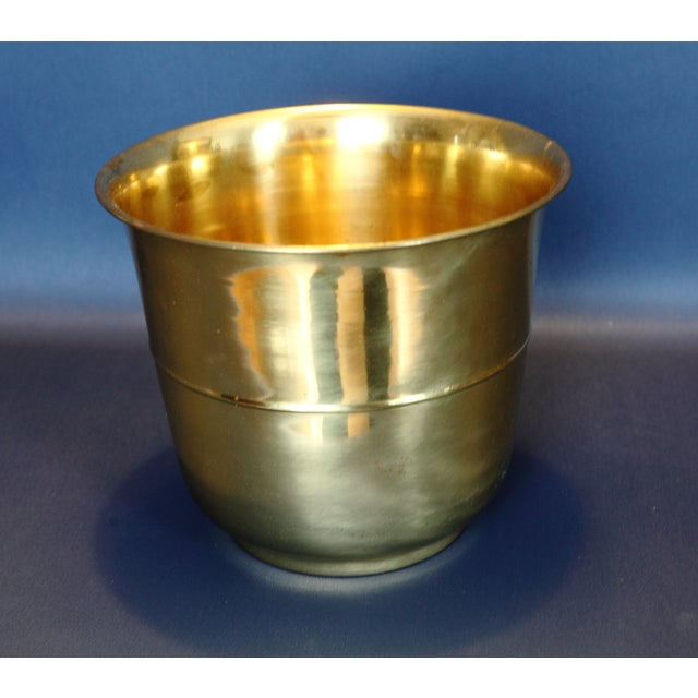 Solid Brass Planter - Image 2 of 4