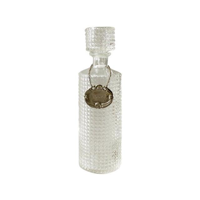 Vintage Crystal Glass Liquor Decanter Bottle Vodka - Image 1 of 6