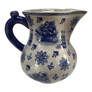 China Blue Fine Porcelain Pitcher