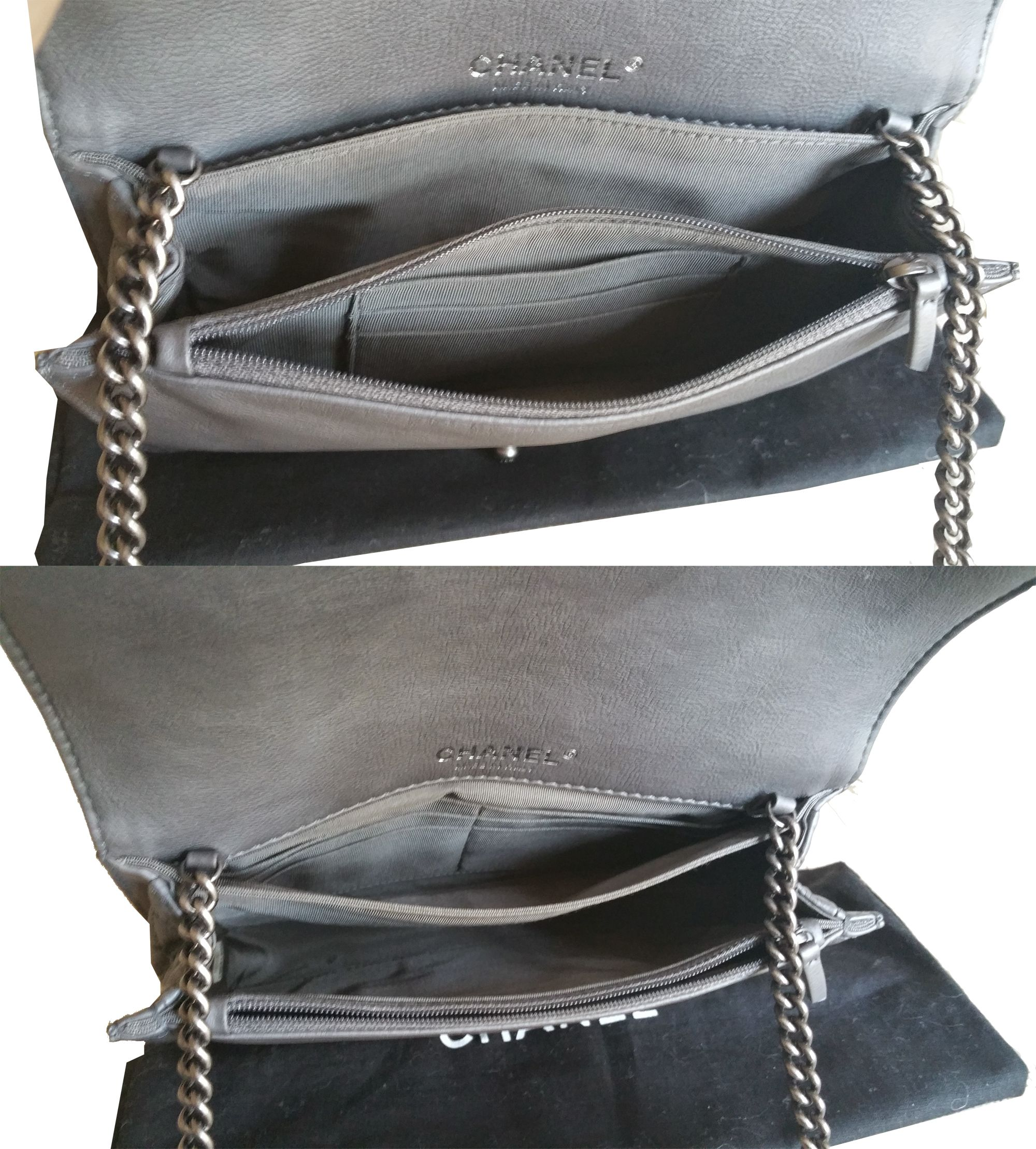 Non Quilted Chanel Bags Non Quilted Crossbody Bag