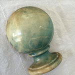 Image of Blue Agate Half-Finial Bookend