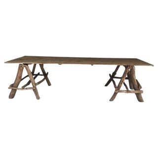 French Rustic Farm Table