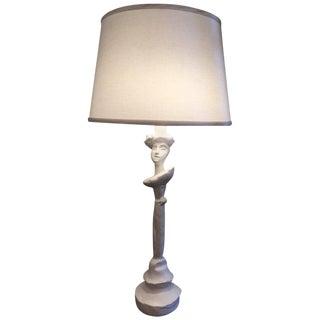 Sirmos Masque Table Lamp, Giacometti Design