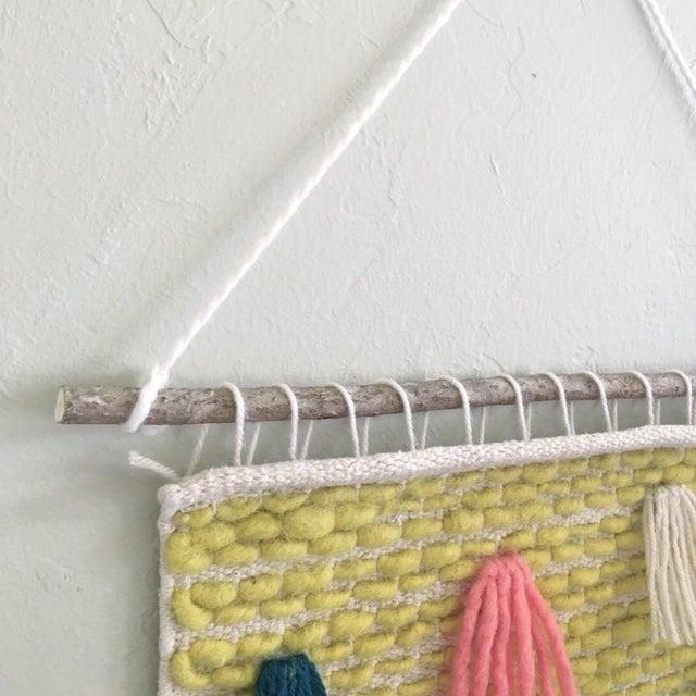 Image of Pastel Tassel Wall Weaving