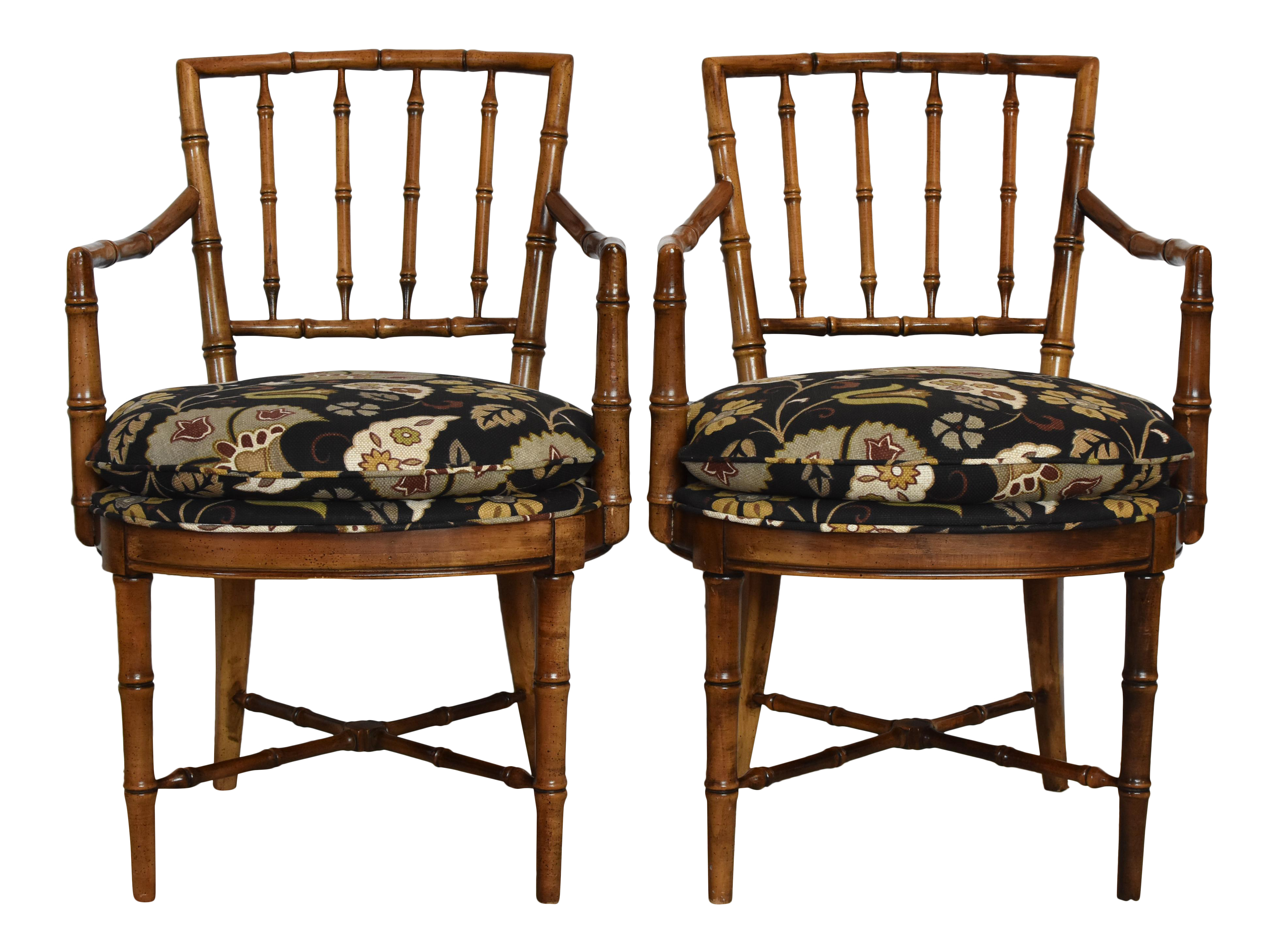 Drexel Heritage Faux Bamboo Chairs  A Pair  Chairish. Open Rafter Ceiling. Cheap Fencing. Coffee Table Centerpieces. Oil Rubbed Bronze Chandelier Lighting. Furniture In A Box. Metal And Glass Coffee Table. Leathered Marble. Discount Glass Tile