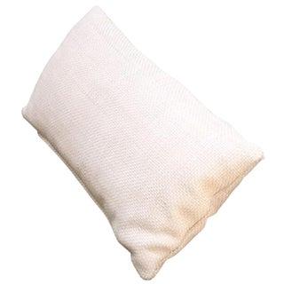 Woven Leather Lumbar Pillow - 1 of 2