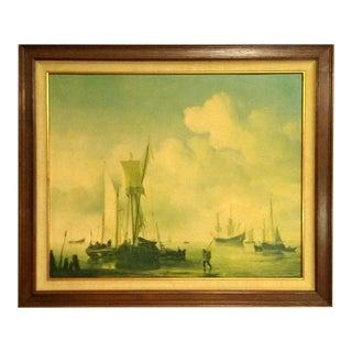 Framed Nautical Sailing Print
