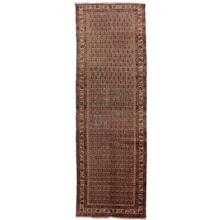 Antique Persian Malayer Runner - 3′2″ × 9′9″
