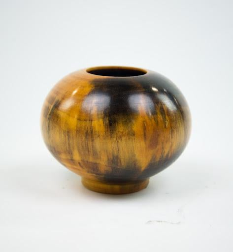 Ed Moulthrop Turned White Pine Vase Chairish