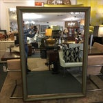 Image of Green & Gilt Wall Mirror
