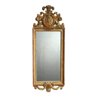 Period Gustavian Mirror by Johan Åkerblad (#42-83)