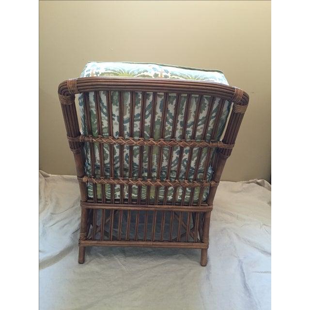 Modern Rattan Lounge Chair - Image 5 of 8
