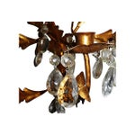 Image of Italian Gilt Metal Wall Sconce