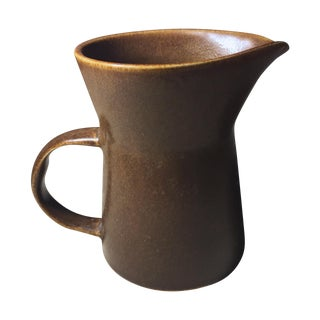 Bennington Art Pottery Pitcher-David Gil