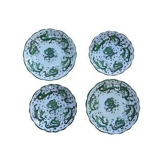 English Dragon Wall Plates - S/4