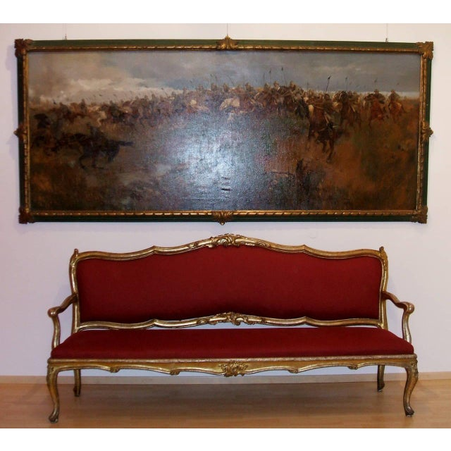 Extraordinary Pair of Louis XV Settees - Image 2 of 5