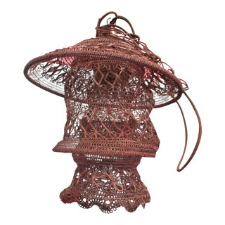 Jamie Young Brocade Pagoda Pendant Light
