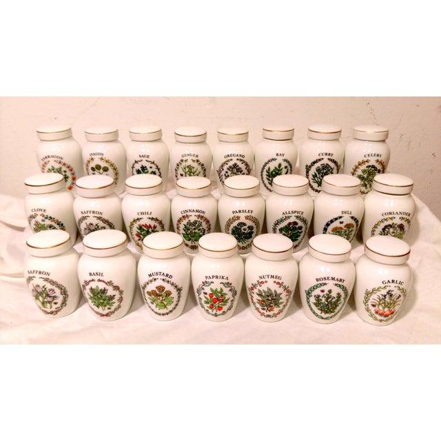 Franklin Mint Spice Jars - Set of 23 - Image 2 of 11