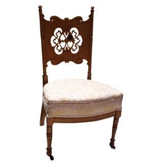 Antique Scandinavian Side Chair