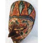 Image of Ornate Decorative Hanging Masks - S/3