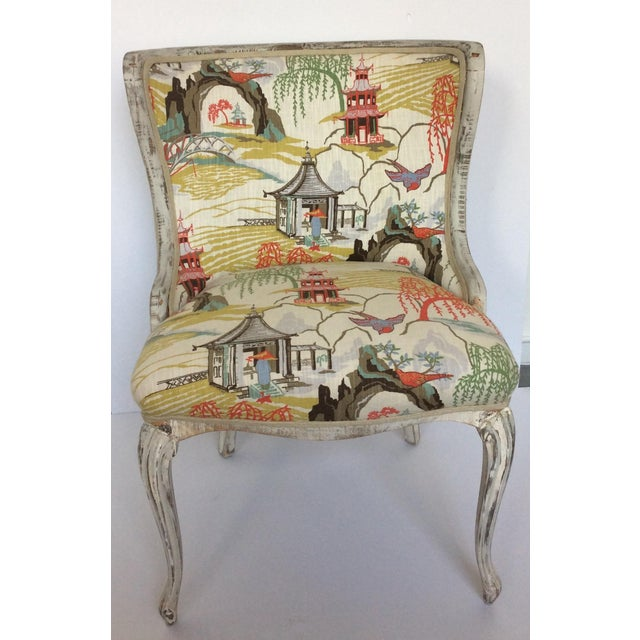 Antique Upholstered Chair - Image 2 of 8
