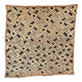 "Vintage Kuba Textile - 21"" x 20"""